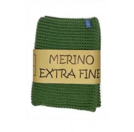 COWL MERINO EXTRA FINE LIGHT GREEN