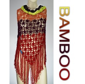 Shawl on Bamboo 100% 5 colors