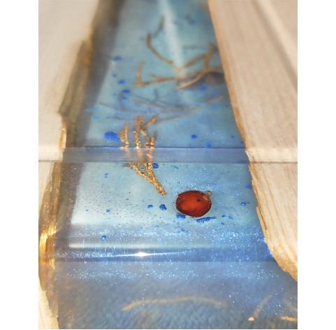 CHOPPERBOARD WITH EPOXY RESIN
