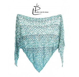 Shawl on Baby Alpaca and Mulberry Silk PARADE